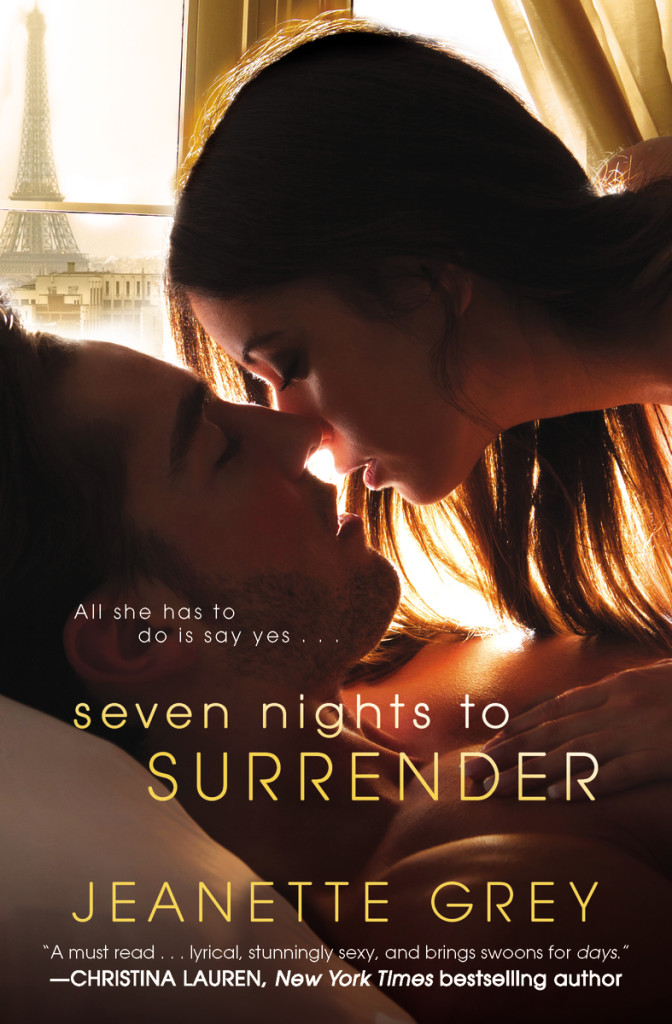 Jeanette Grey Seven Nights to Surrender - an erotic romance set in Paris